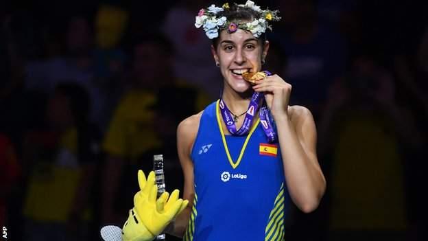 Carolina Marin raih medali emas