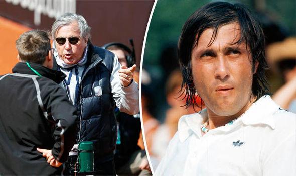 Ilie Nastase, legenda tenis dunia