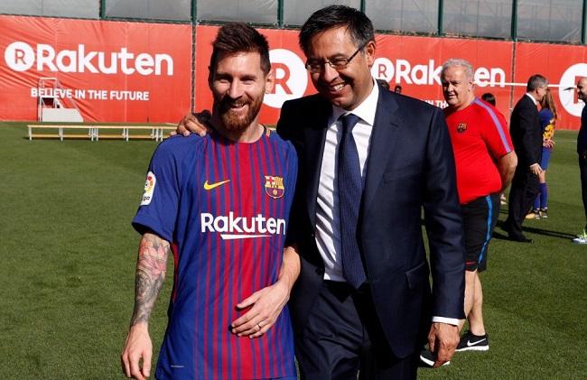 Perseteruan Pemotongan Gaji Lionel Messi dan Bartomeu