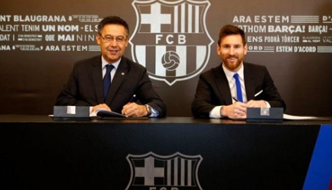 Perseteruan Pemotongan Gaji Messi dan Bartomeu