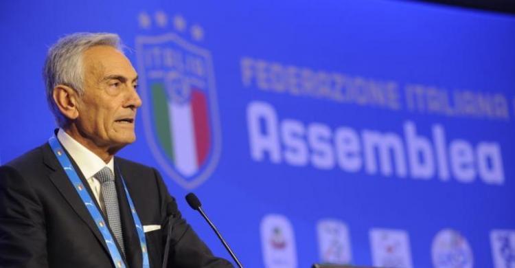 Presiden FIGC, Gabriele Gravina