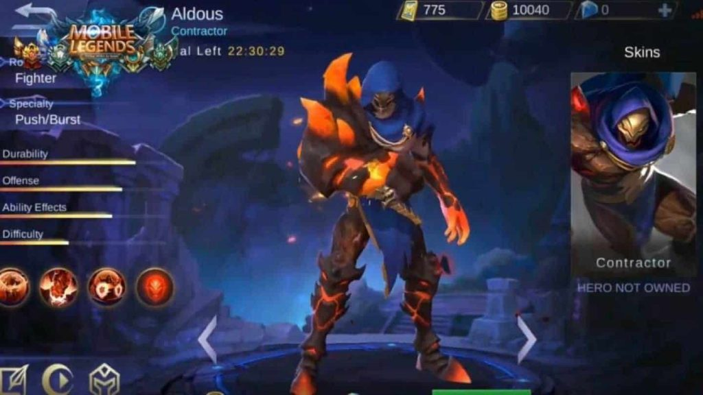 aldous mobile legends