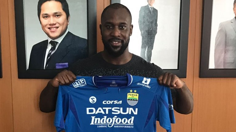 Pemain Asing Termahal di Persib Bandung