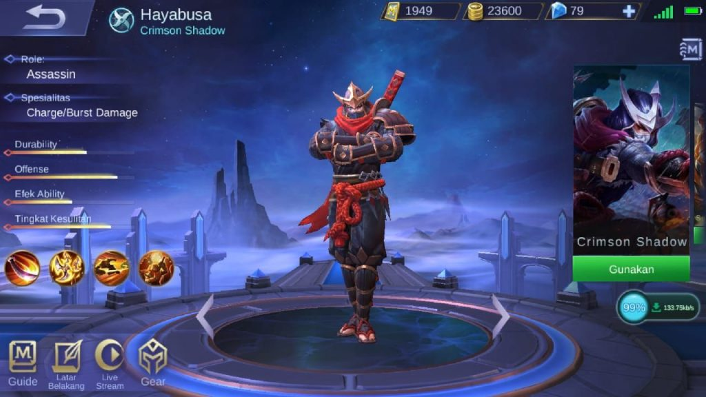 hayabusa mobile legends