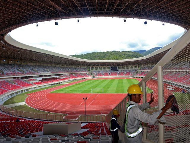 pembangunan venue PON Papua 2020 tertunda karena covid-19