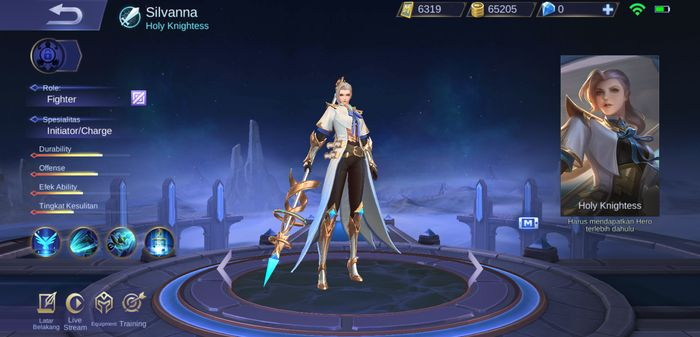 silvanna mobile legends
