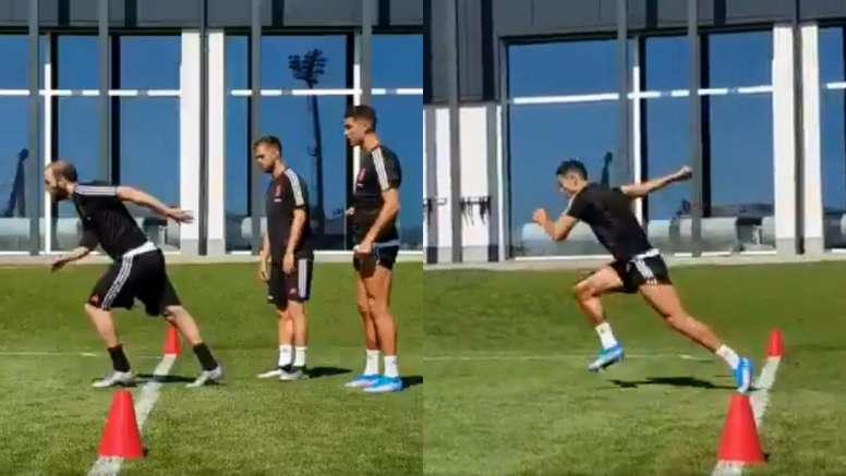 Juventus siap lanjutkan latihan