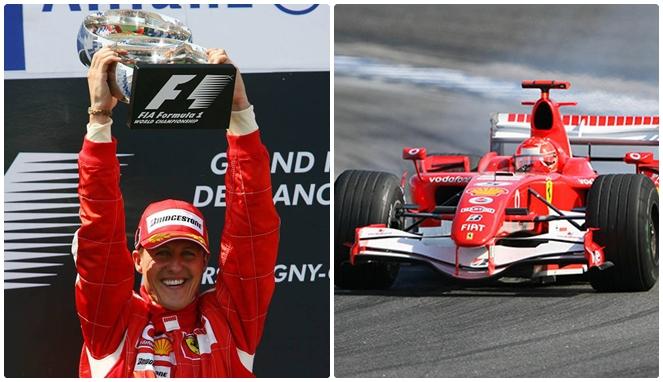 Michael Schumacher jadi orang paling berpengaruh di F1