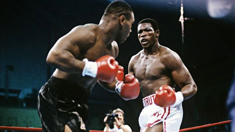 Tyson vs Carl Williams 1989