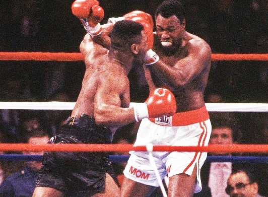Tyson vs Larry Holmes 1988