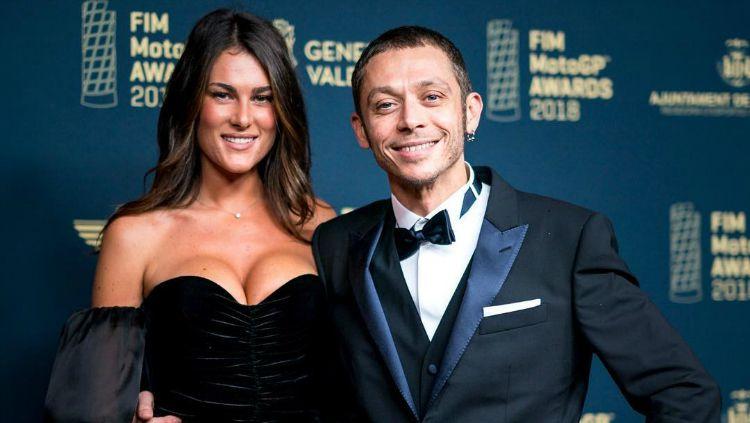 Valentino Rossi dan pacarnya