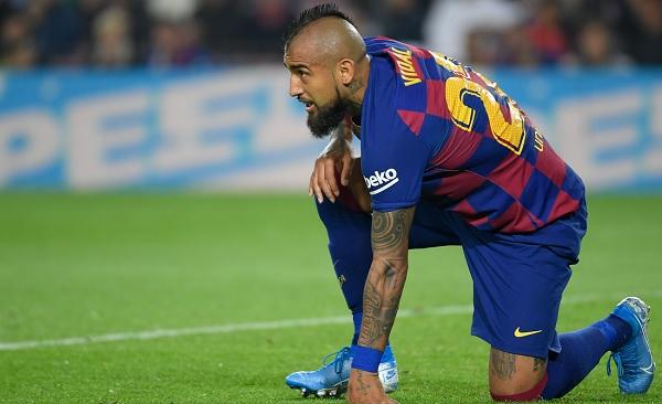 Vidal Merasa Senang di Barcelona Walau Tengah Dihubungkan Dengan Inter