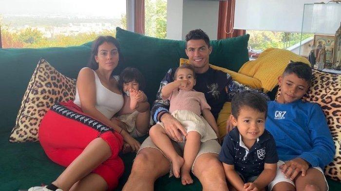 keluarga Cristiano Ronaldo