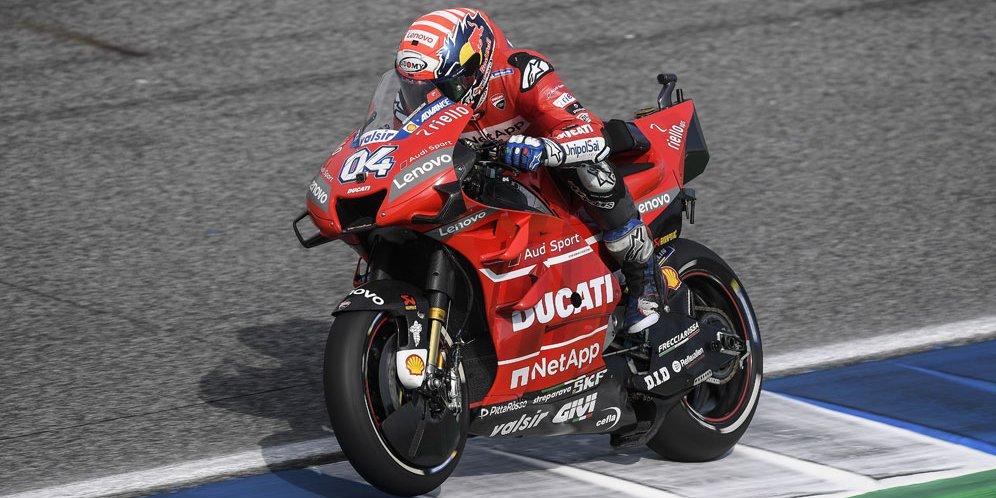 Andrea Dovizioso tetap ikut seri MotoGP 2020