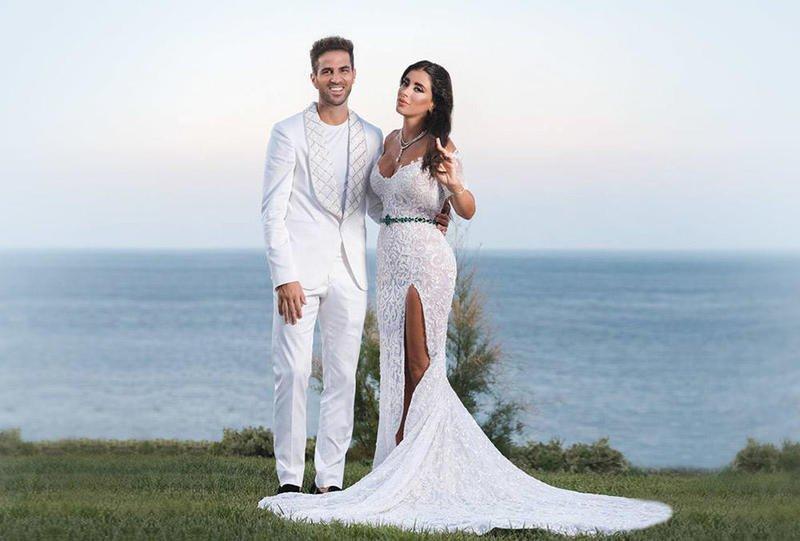 Cesc Fabregas dan Daniella Semaan