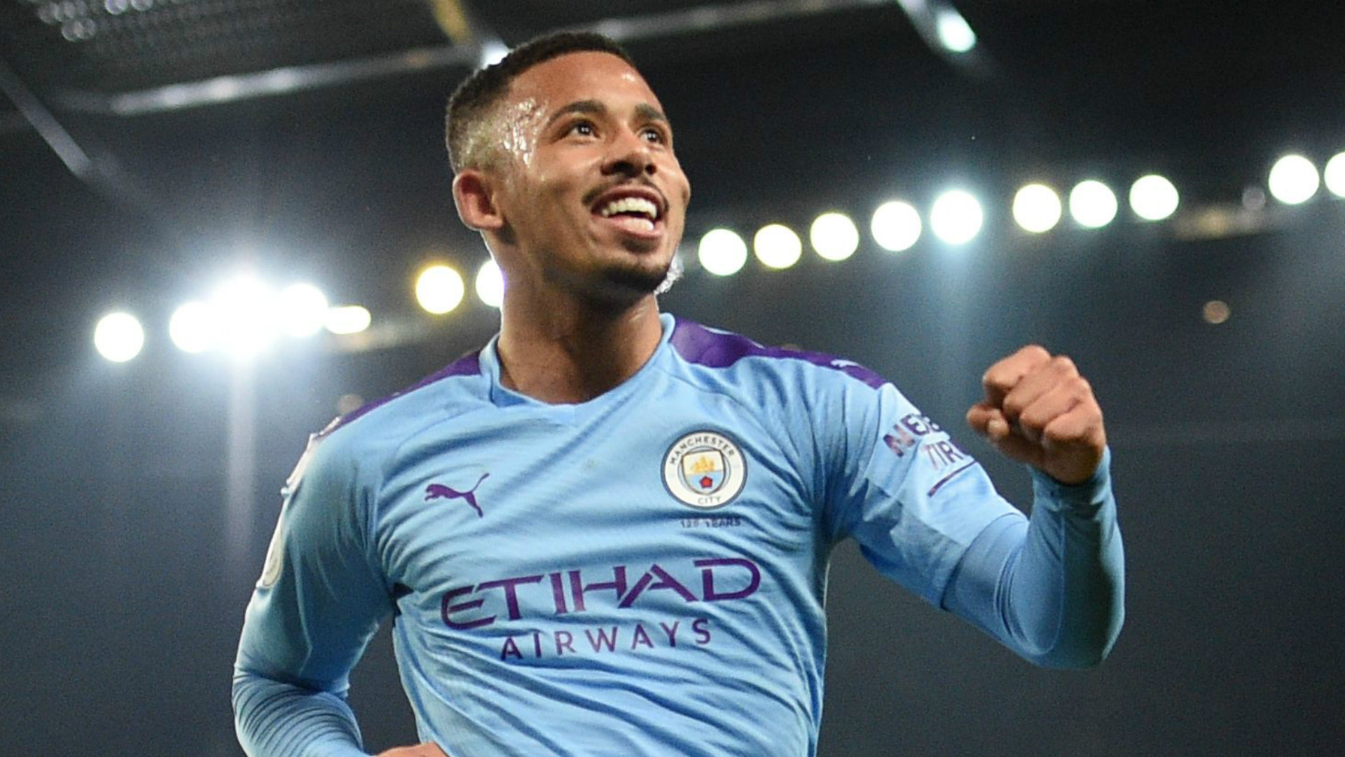 Gabriel Jesus di Manchester City