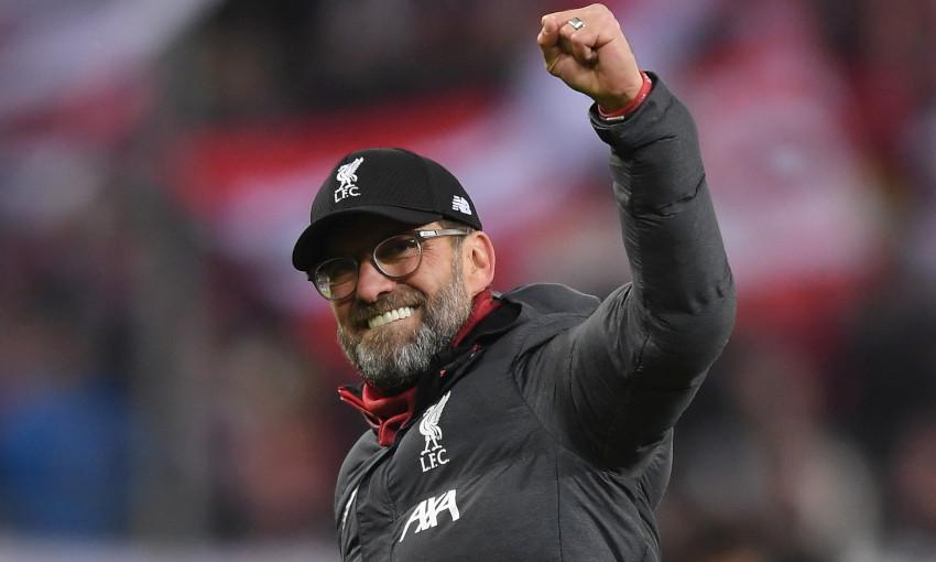 Juergen Klopp, pelatih Liverpool