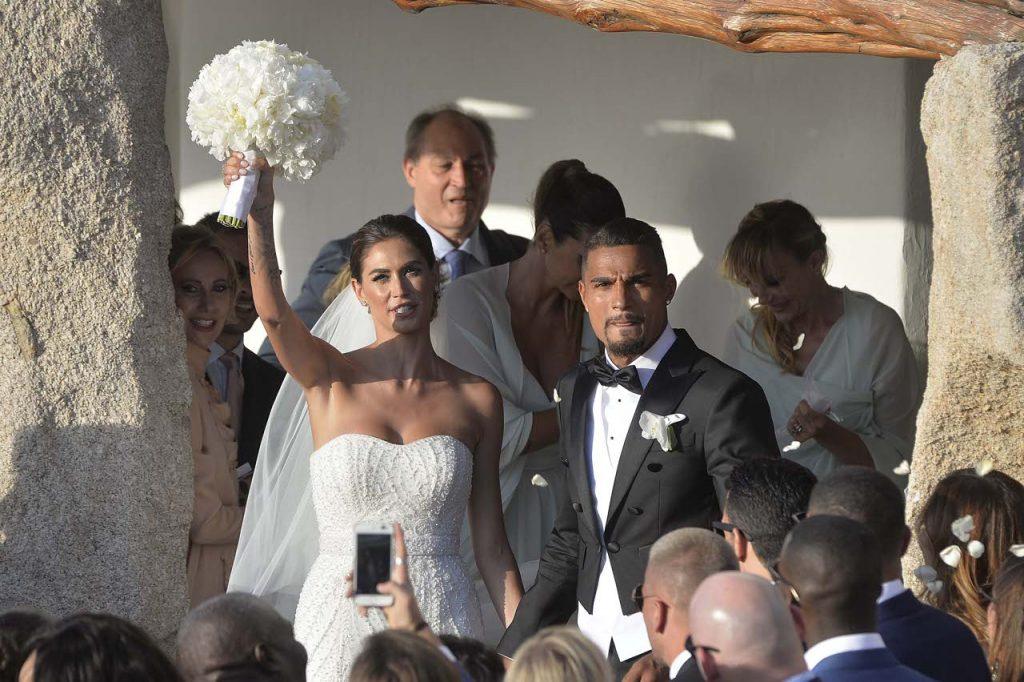 Kevin-Prince Boateng dan Melissa Satta