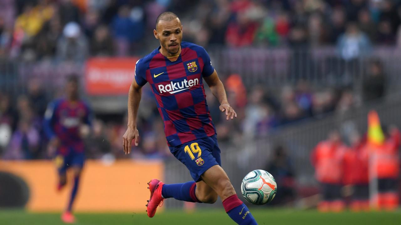 Martin Braithwaite cetak gol untuk Barcelona