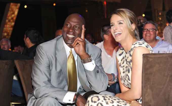 Michael Jordan dan istri