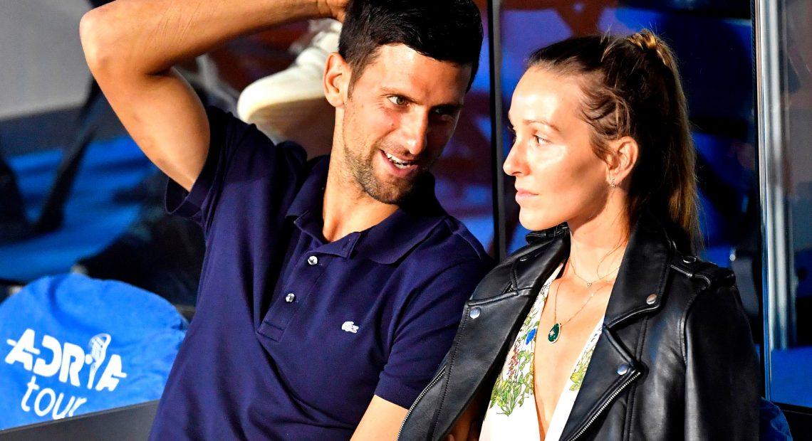 Novak Djokovic dan Jelena