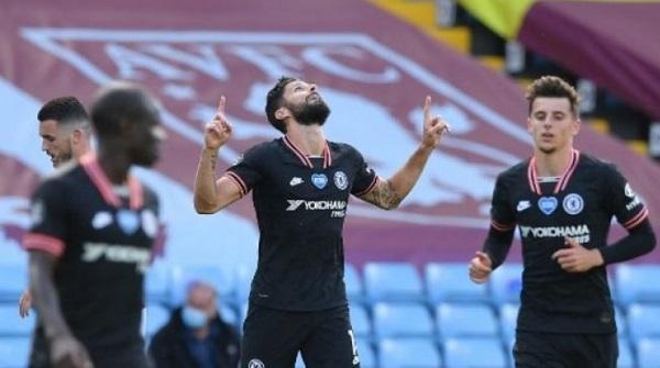 Pertarungan Giroud Dengan Aston Villa Terus Berlanjut