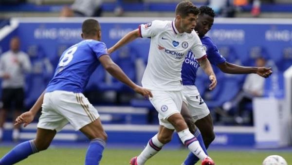 Pulisic Cedera Betis Saat Laga Melawan Leicester