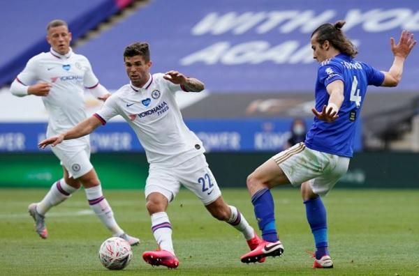 Pulisic Cedera Betis Saat Laga Piala FA Melawan Leicester