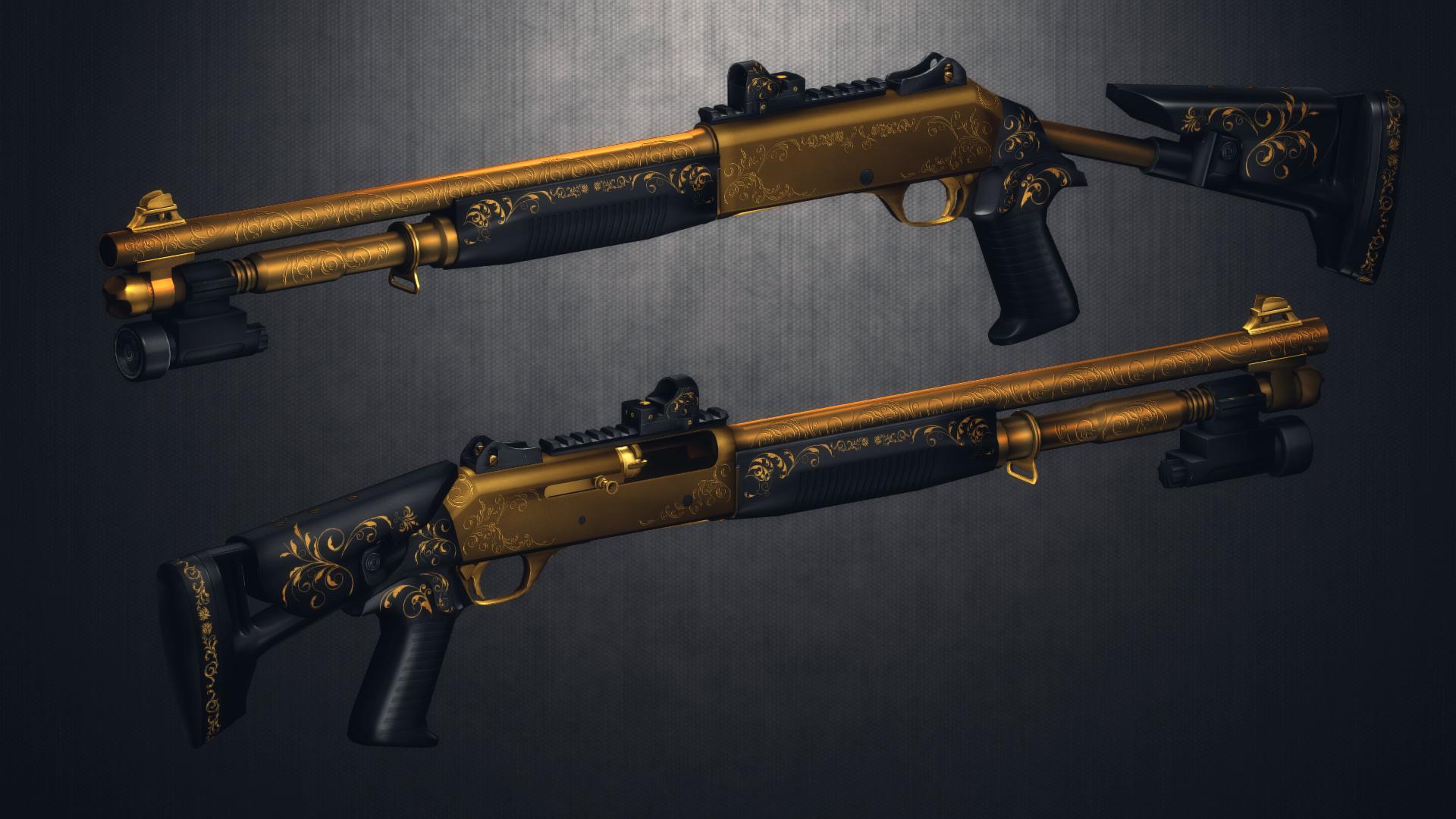 Skin M1014 Metal