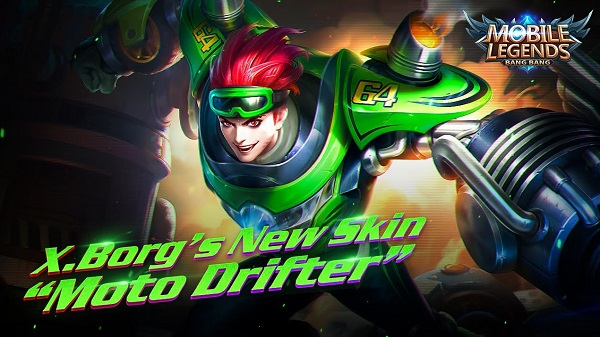 X.Borg – Moto Drifter