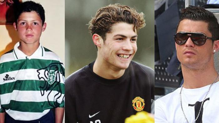 masa kecil Cristiano Ronaldo