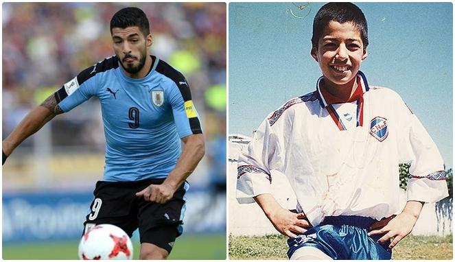 masa kecil Luis Suarez