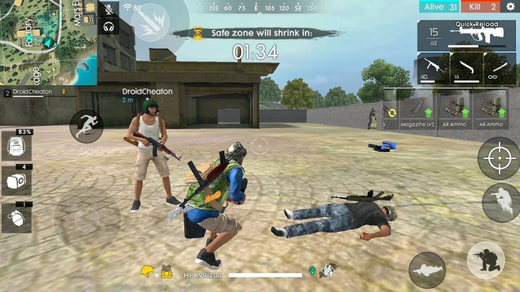 tips main game Free Fire