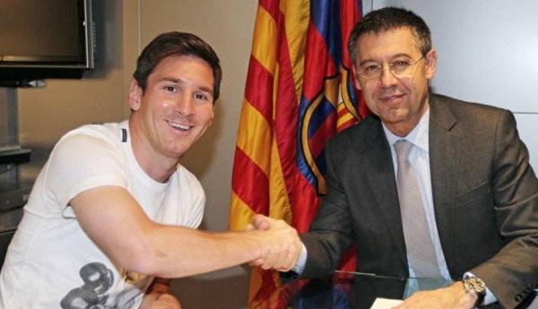 Bartomeu Sebut Messi Ingin Mengakhiri Karirnya Bersama Barca