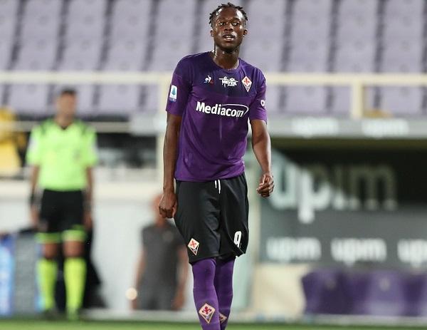 Christian Kouame Berharap Mencetak Gol Saat Melawan Cagliari