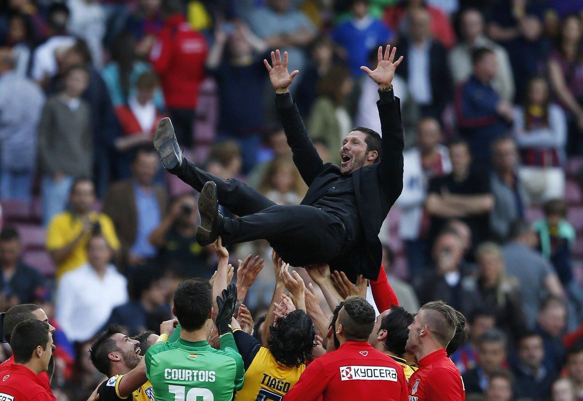 Diego Simeone, pelatih Atletico Madrid