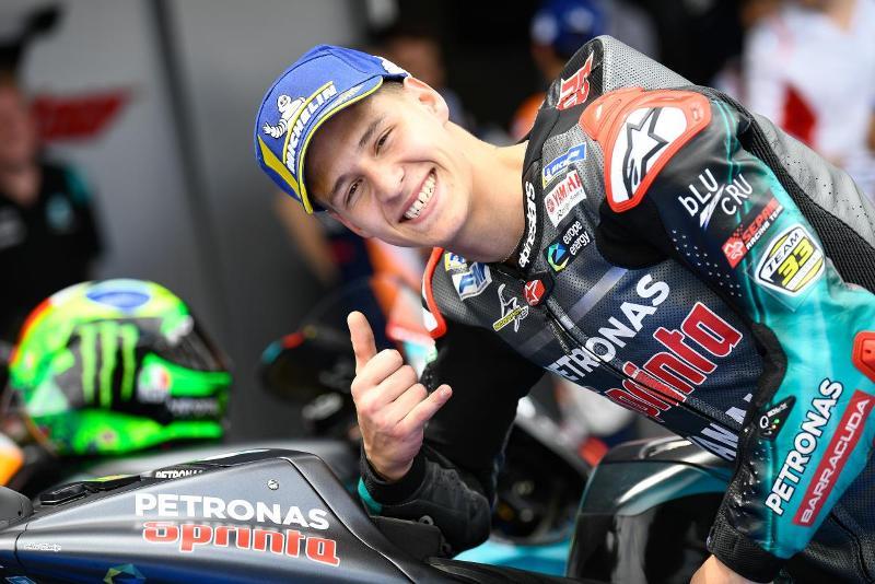 Fabio Quartararo raih juara motogp