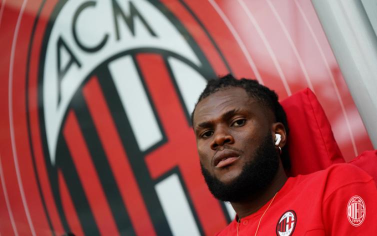Franck Kessie di AC Milan