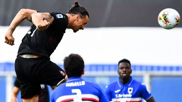 Ibrahimovic Cetak Rekor Gol ke-50 Di Milan