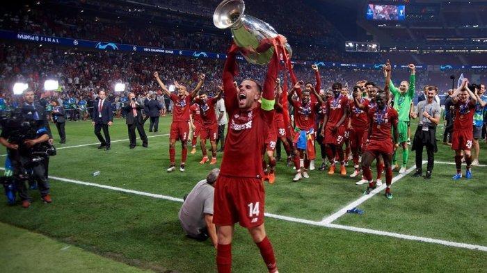 Jordan Henderson dan tim Liverpool