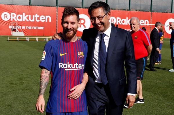 Josep Maria Bartomeu Sebut Messi Ingin Mengakhiri Karirnya Bersama Barca