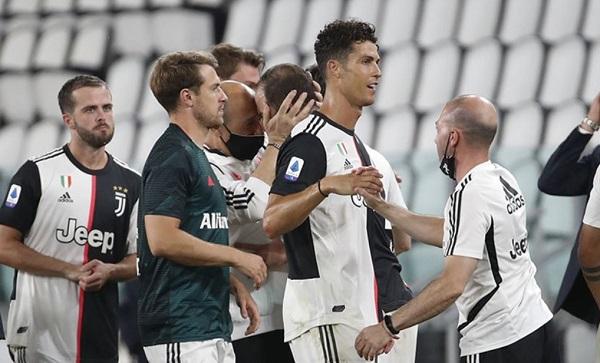 Juventus Menangkan Gelar Liga Italia Beruntun