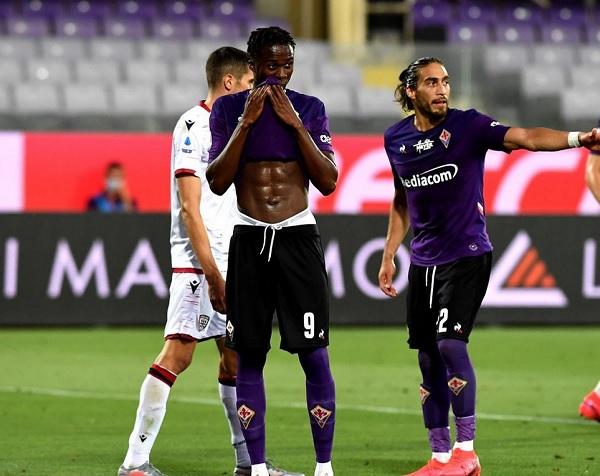 Kouame Berharap Mencetak Gol Saat Melawan Cagliari