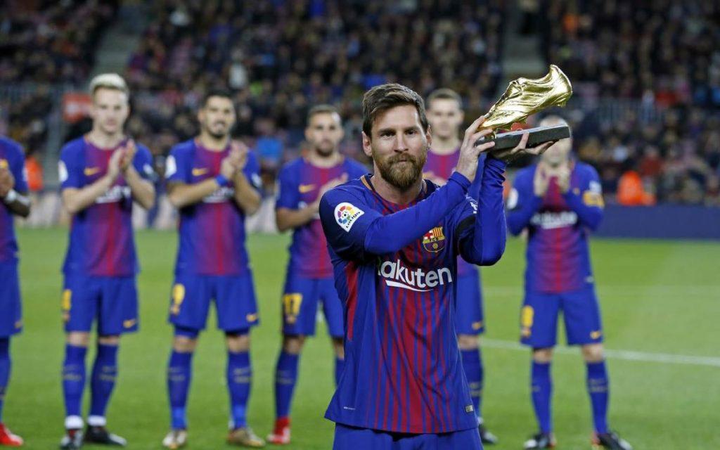 Lionel Messi jadi top skor Liga Spanyol 2019-2020