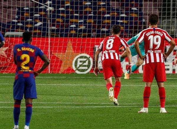 Messi Catatkan Gol e 700 Saat Melawan Atletico