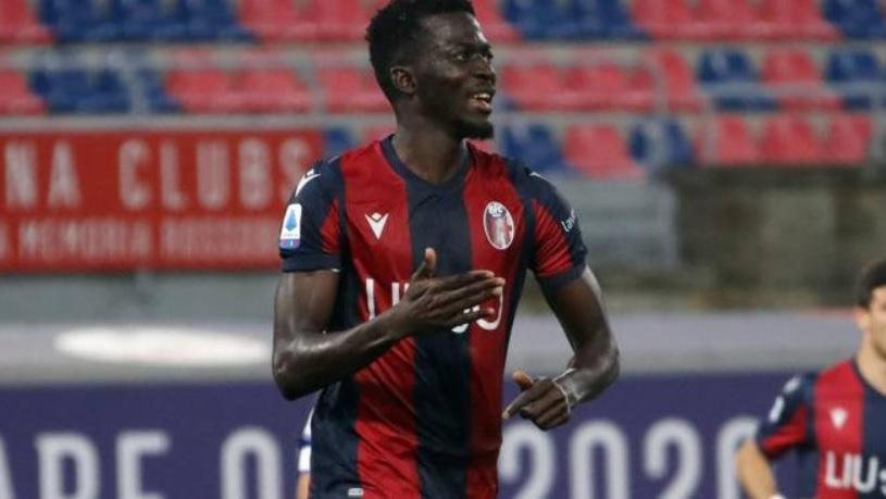 Musa Barrow Cetak Gol Kemenangan Bologna