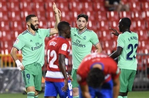 Pertahanan Real Madrid Menurun Saat Melawan Granada