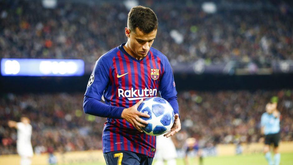 Philippe Coutinho di Barcelona