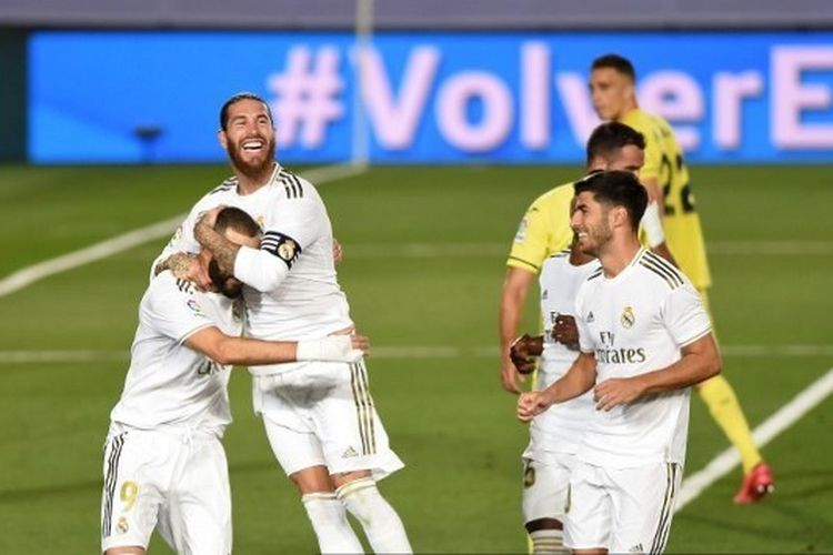 Real Madrid jadi juara Liga Spanyol 2019-2020