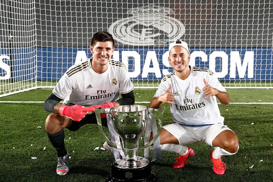 Thibaut Courtois dan piala Liga Spanyol 2019-2020
